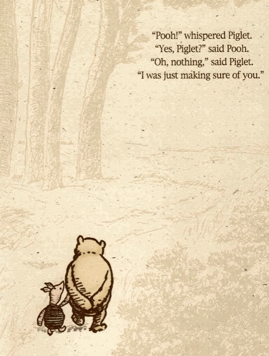 Winnie-the-Pooh, and his merry band of friends we love so much